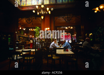 Art Nouveau Cafe And Restaurant Le Falstaff Interior