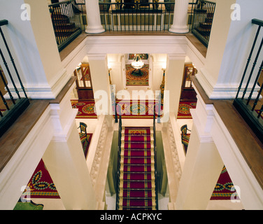 Interior at the Lanesborough Hotel London - Stock Photo