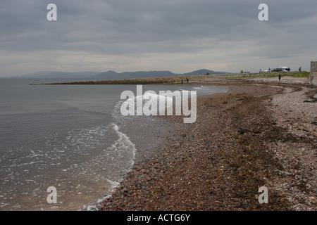 Chanonry Point on the Black Isle, Scotland. A popular spot for those hoping to indulge in a bit of dolphin watching. - Stock Photo