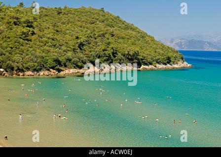 Kalamaki Beach in Davutlar National Park, Kusadasi Turkey Stock Photo, Royalt...