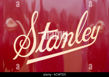 Stanley steamer marque badge USA. ONLY FOR EDITORIAL USE. - Stock Photo