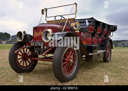 Prestwood Steam Fair Stanley steamer automobile. EDITORIAL USE ONLY - Stock Photo