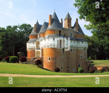 FRANCE PICARDY CHATEAU DE RAMBURES - Stock Photo