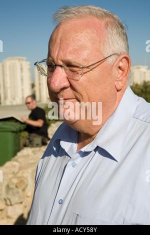 Stock Photo of Holocaust Survivors Demonstration in Jerusalem Israel - Stock Photo