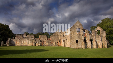 Netley Abbey, Southampton, Hampshire, England - Stock Photo