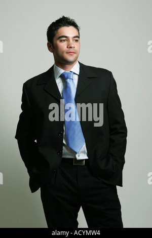 A smartly dressed young man - Stock Photo