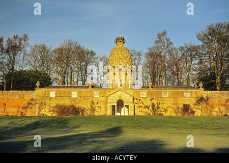 The Pineapple at Dunmore near Airth - Stock Photo
