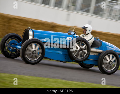 1931 Bugatti Type 54 at Goodwood Festival of Speed, Sussex, UK. - Stock Photo