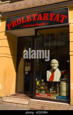 Proletaryat bar in Central Poznan Poland EU - Stock Photo