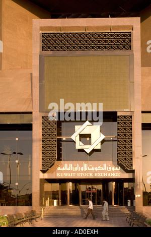 Kuwait Stock Exchange, Kuwait - Stock Photo