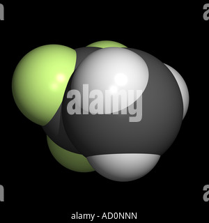 trifluoroethane - Stock Photo