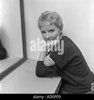 Petula Clark. Photo by Harry Hammond. UK, 1960s. - Stock Photo
