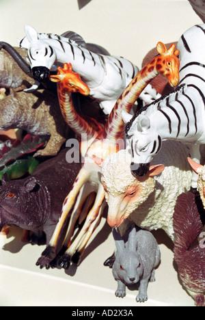 toy animal models  - Stock Photo