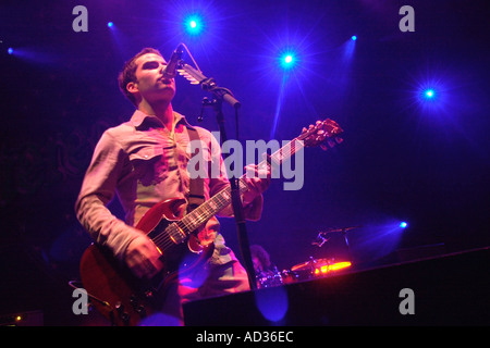 Kelly Jones lead guitar vocals with Welsh rock band the Stereophonics Wales UK GB - Stock Photo