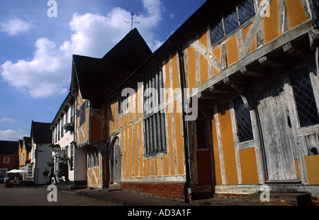 Little Hall Lavenham Suffolk UK - Stock Photo