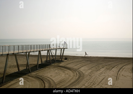 A pier and seascape - Stock Photo