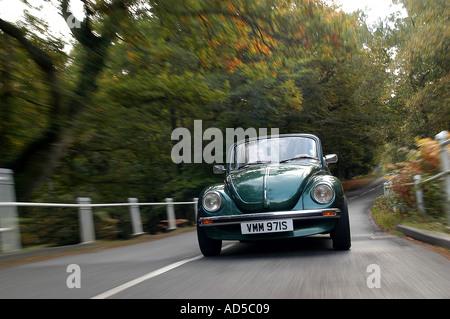 1978 Volkswagen Beetle Cabriolet - Stock Photo