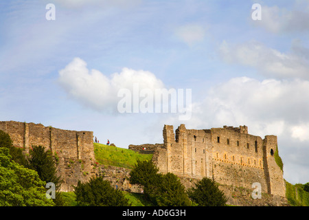 Richmond Castle Richmond North Yorkshire England - Stock Photo