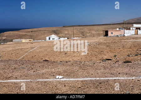 subsoil Aguas Verdes Fuerteventura Canary Islands - Stock Photo