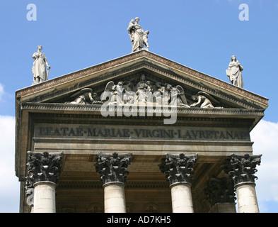 Eglise Notre Dame de Lorette (Church of Kept Women) Paris France - Stock Photo