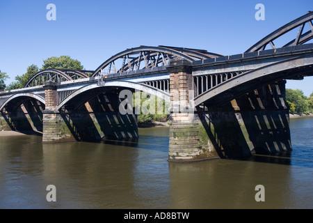 Barnes Bridge River Thames London