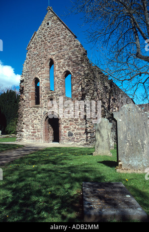 Beauly Priory originally a Valliscaulian monastic community located at 'Insula de Achenbady', now Beauly, Inverness - Stock Photo