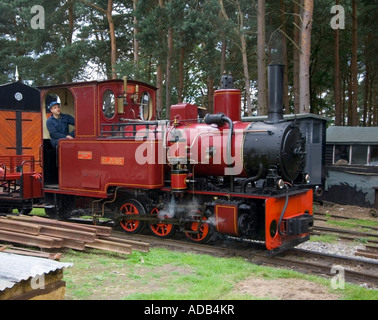 Rural Life Centre - Tilford - Surrey - UK - United Kingdom - England Old Kiln Light Railway - Stock Photo