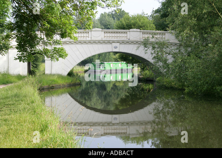 The Grove Bridge No 164 over the Grand Union Canal Watford Herts - Stock Photo