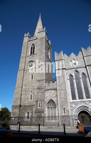 st patricks cathedral founded in 1192 formerly national cathedral and collegiate church of saint patrick church - Stock Photo