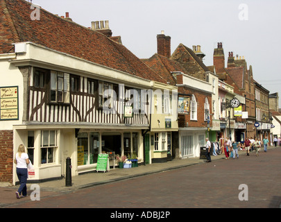 Preston Street, Faversham, Kent, England, UK, United Kingdom, Great Britain, Europe, - Stock Photo
