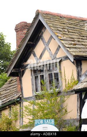Timber Frame House At Pembridge Herefordshire England Uk