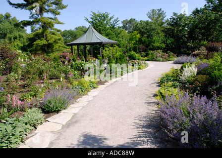 Olbrich Botanical Gardens Madison Wisconsin Usa Stock
