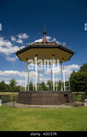 Bandstand Kensington Gardens London England - Stock Photo