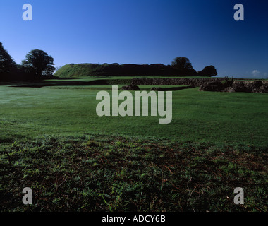 Old Saum Hill Fort near Salisbury Wiltshire UK - Stock Photo