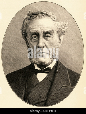 Anthony Ashley Cooper, 7th Earl of Shaftesbury, aka Lord Ashley and Lord Shaftesbury,1801-1885. British politician, - Stock Photo
