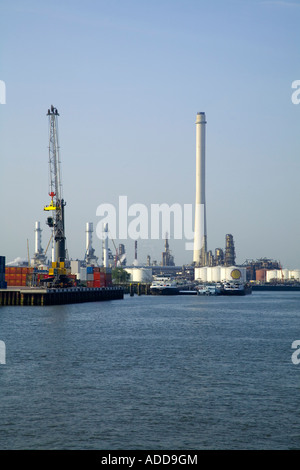 commercial shipping;harbor;Rotterdam;freighter