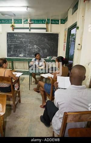 Adult Education in Belize - Stock Photo