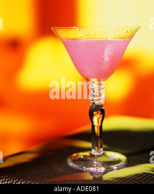 Alcoholic Drink Martini - Stock Photo