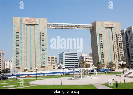 Marriot executive apartments Dubai - Stock Photo