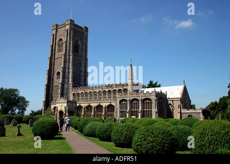Lavenham Church Suffolk England - Stock Photo