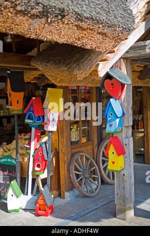 Souvenir shop, Black Forest, Baden-Württemberg, Germany - Stock Photo