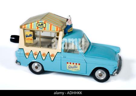 Ford Thames Walls Musical Ice Cream Van. Corgi Diecast model  no.447. Issued 1965 - Stock Photo
