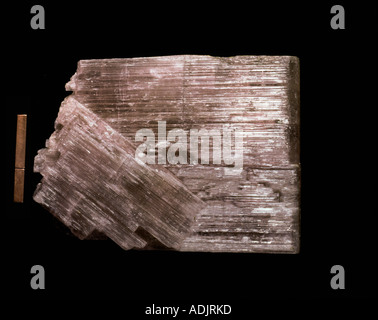Anhydrite - Stock Photo