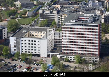 Europa Europe Germany Deutschland Berlin Friedrichshain Kreuzberg Bundesministerium fuer wirtschaftliche Zusammenarbeib - Stock Photo