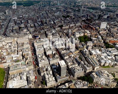 London Aerial Shot - Stock Photo