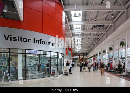 Golden Square Shopping Centre Warrington Interchange - Stock Photo