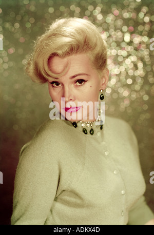 ZSA ZSA GABOR US actress and socialite - Stock Photo