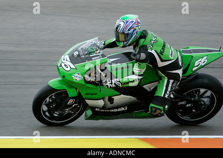 Shinya Nakano Kawasaki Motogp Rider Stock Photo Alamy