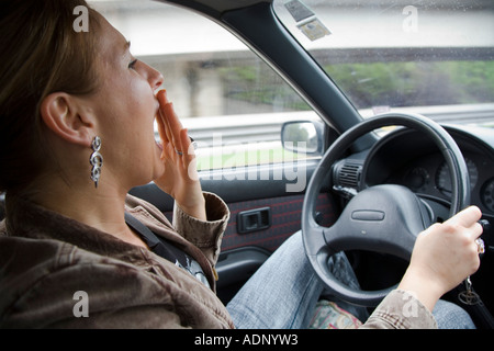 how to stop falling asleep while driving