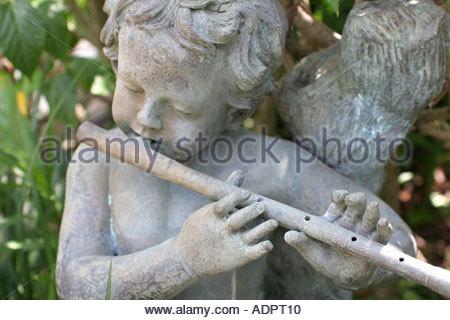 ... Orlando Florida Courtyard At Lake Lucerne Garden Statue Detail   Stock  Photo